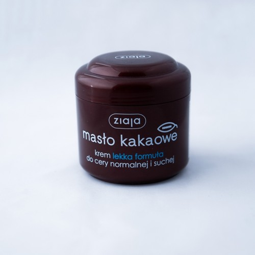 "Крем для обличчя ""Масло какао"". Легка формула. 200 мл"