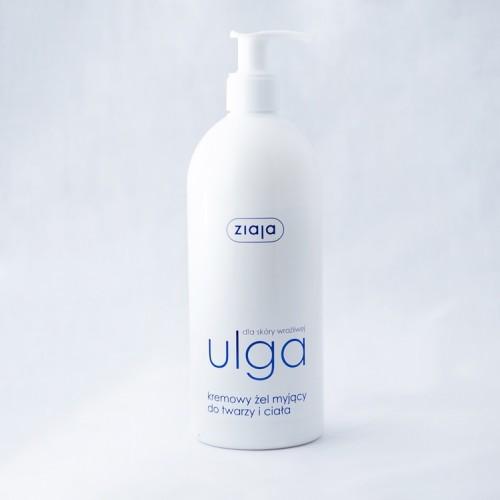 """Кремовий гель для шкіри обличчя і тіла """"ULGA"""". 400 мл"""