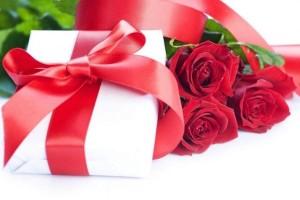 Квіти у День святого Валентина.